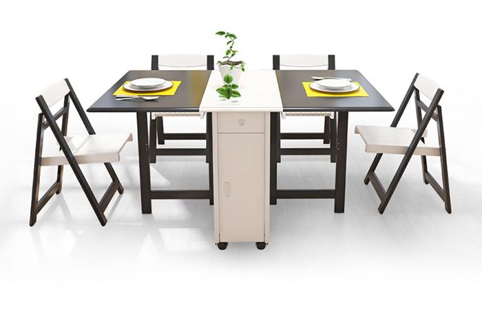 5 mẫu bàn ăn thông minh nên chọn cho 1 phòng ăn nhỏ hẹp-4