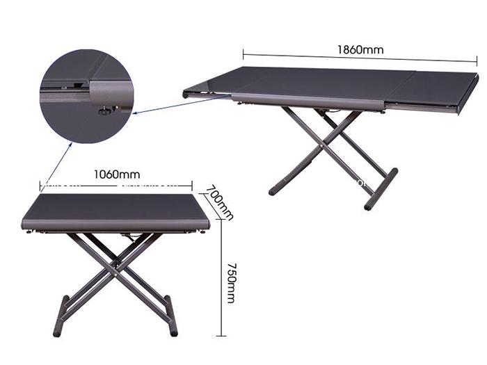5 mẫu bàn ăn thông minh nên chọn cho 1 phòng ăn nhỏ hẹp-1