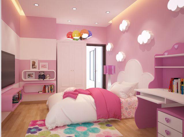 Thiết kế nội thất phòng ngủ cho bé tuyệt đẹp-1