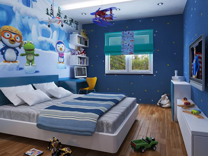 Thiết kế nội thất phòng ngủ cho bé tuyệt đẹp-10
