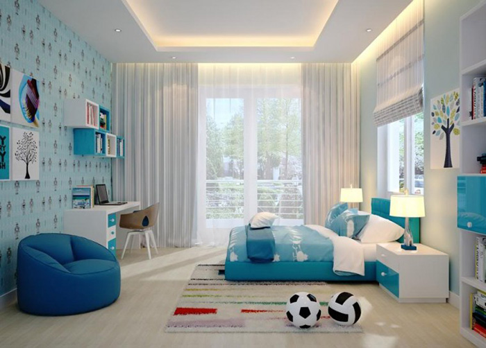 Thiết kế nội thất phòng ngủ cho bé tuyệt đẹp-14