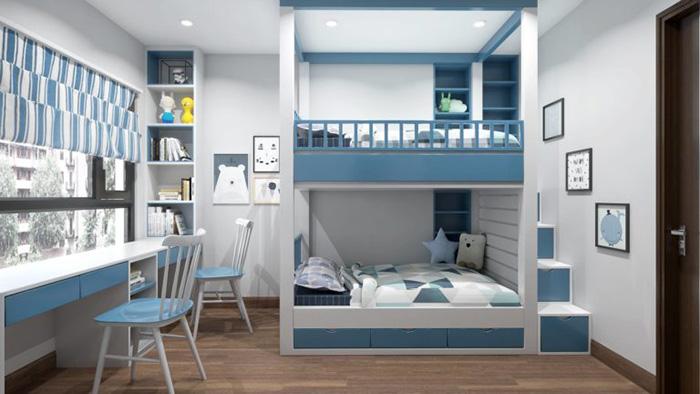 Thiết kế nội thất phòng ngủ cho bé tuyệt đẹp-15