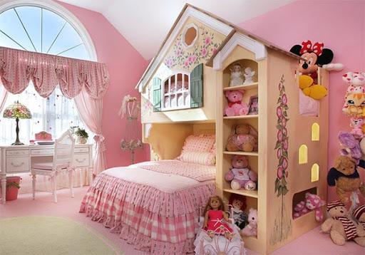 Thiết kế nội thất phòng ngủ cho bé tuyệt đẹp-3