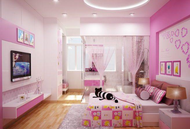 Thiết kế nội thất phòng ngủ cho bé tuyệt đẹp-4