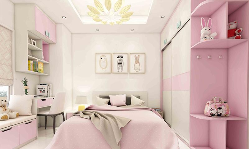 Thiết kế nội thất phòng ngủ cho bé tuyệt đẹp-6