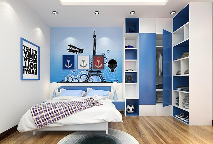 Thiết kế nội thất phòng ngủ cho bé tuyệt đẹp-8