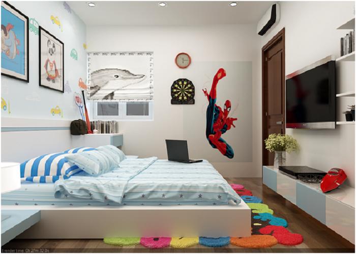 Thiết kế nội thất phòng ngủ cho bé tuyệt đẹp-9