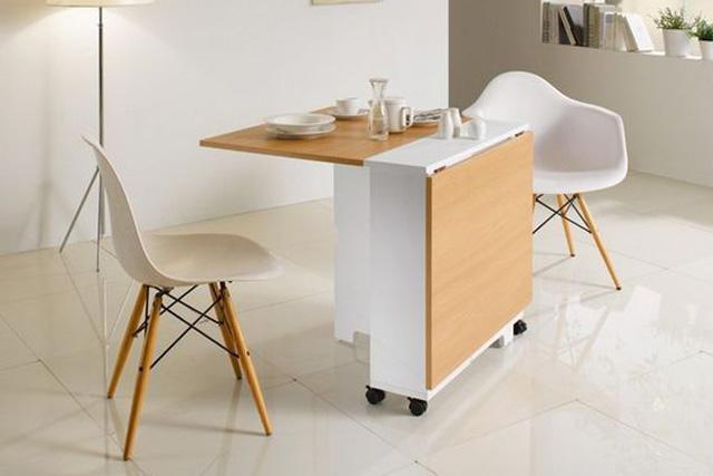 Bàn ghế ăn thông minh - Giải quyết hoàn toàn nỗi lo nhà nhỏ-10