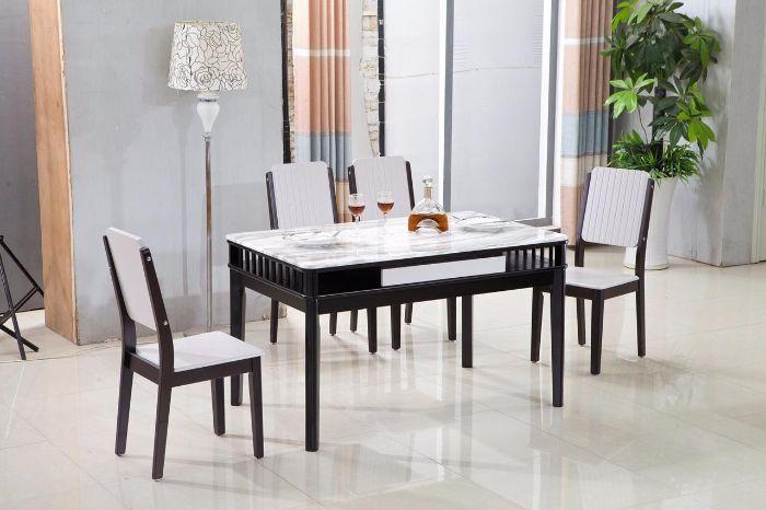 Cách chọn bộ bàn ăn mặt đá giá rẻ tiện lợi-2
