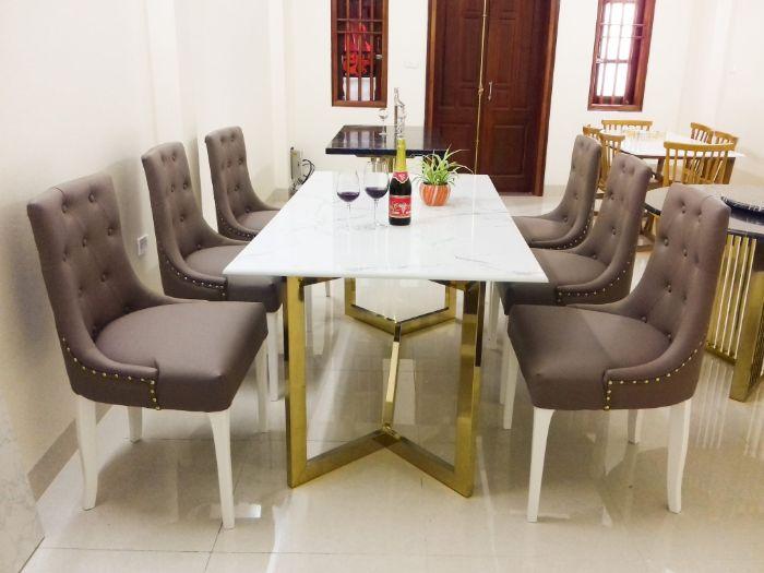 Cách chọn bộ bàn ăn mặt đá giá rẻ tiện lợi-3