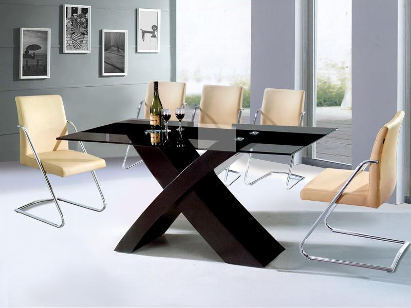 Giới thiệu 15 mẫu bàn ăn kính cường lực đẹp giá rẻ-6