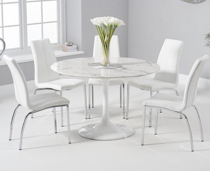 Kinh nghiệm lựa chọn bàn ăn đá marble-7