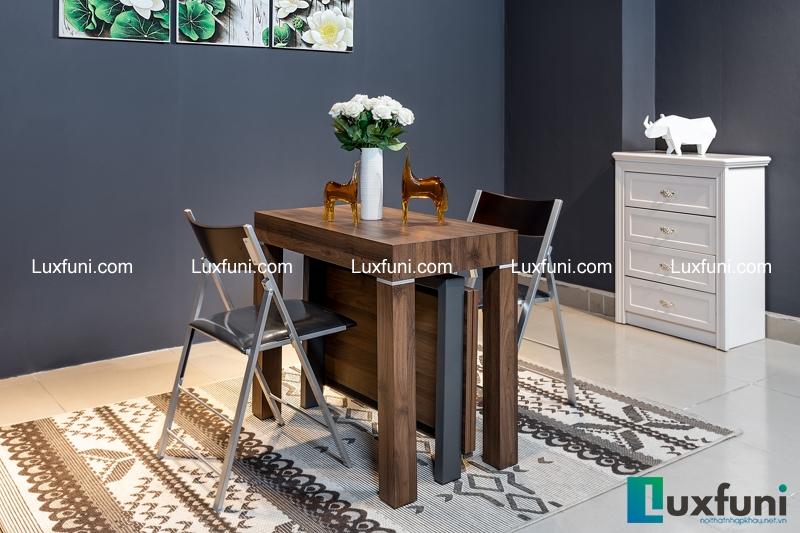 Mẫu bàn ăn thông minh gỗ Sồi siêu HOT nhập khẩu từ châu Âu-2