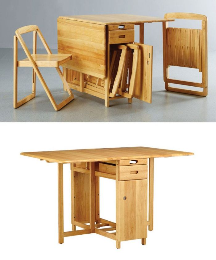 Mẫu bàn ăn thông minh gỗ tự nhiên HOT nhất hiện nay-3
