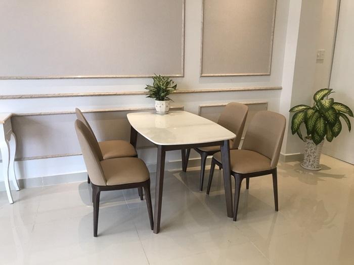 Những mẫu bàn ăn 4 ghế mới nhất năm 2020-10