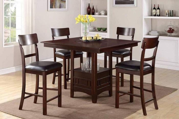 Những mẫu bàn ăn 4 ghế cho gia đình mới nhất năm 2020-3