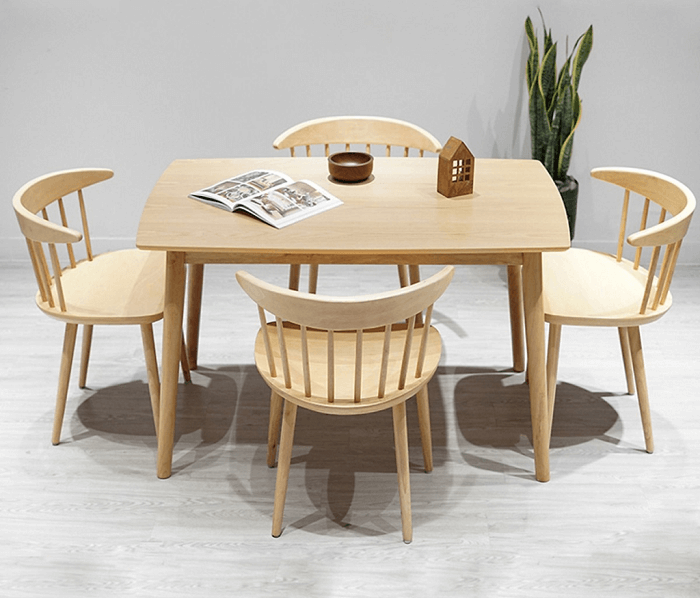 Những mẫu bàn ăn 4 ghế mới nhất năm 2020-4