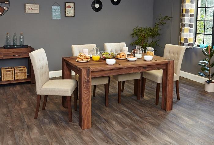 Tiết lộ các mẹo lựa chọn bàn ăn 6 ghế cho gia đình-1
