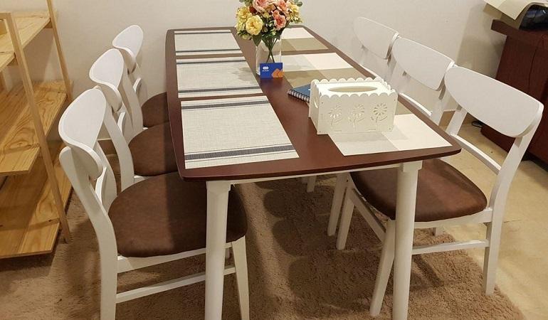 3 tiêu chí chọn bộ bàn ăn 6 ghế hiện đại chuẩn không cần chỉnh
