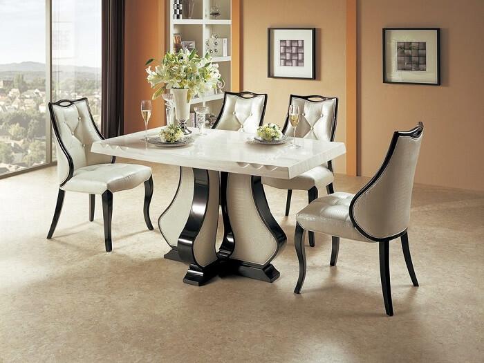 Phân loại bàn ăn mặt đá cao cấp đẹp và sang trọng nhất hiện nay-6
