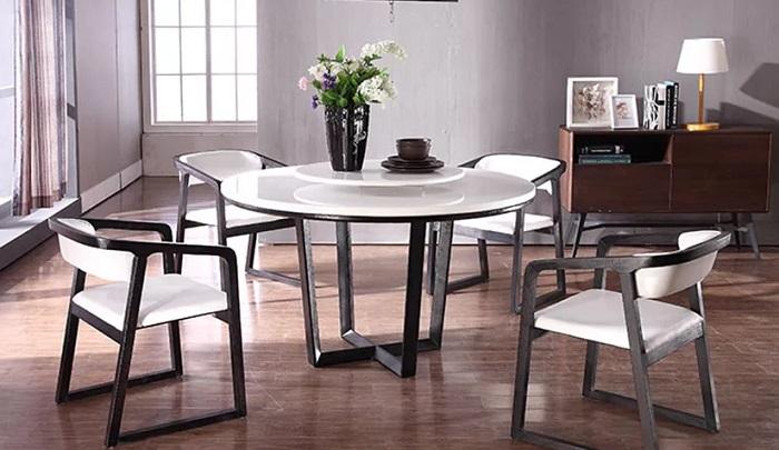 Bàn ghế ăn hiện đại mang tới sự tươi mới cho phòng bếp-1