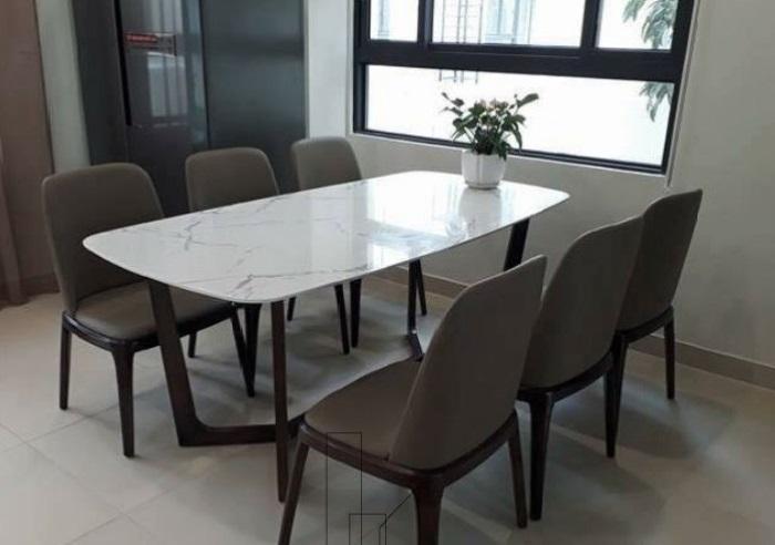 Bàn ghế ăn hiện đại mang tới sự tươi mới cho phòng bếp-3