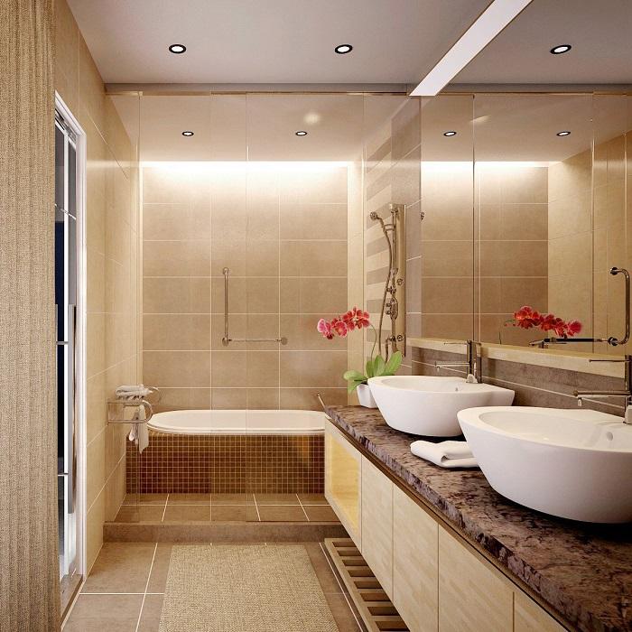 Bật mí cách chọn kích thước gương nhà tắm chuẩn, hợp phong thủy 1