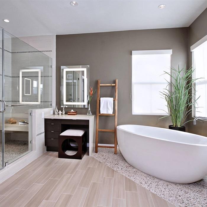 Bật mí cách chọn kích thước gương nhà tắm chuẩn, hợp phong thủy 2