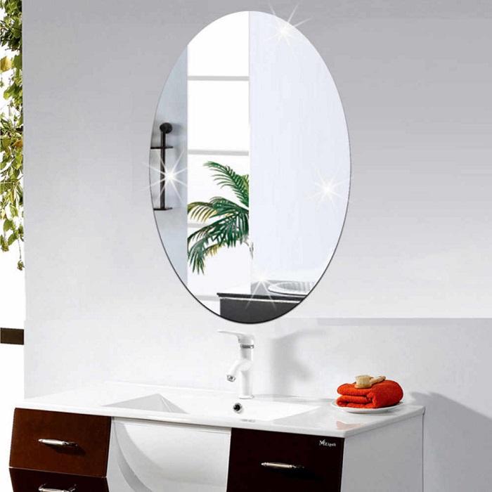 Bật mí cách chọn kích thước gương nhà tắm chuẩn, hợp phong thủy 3