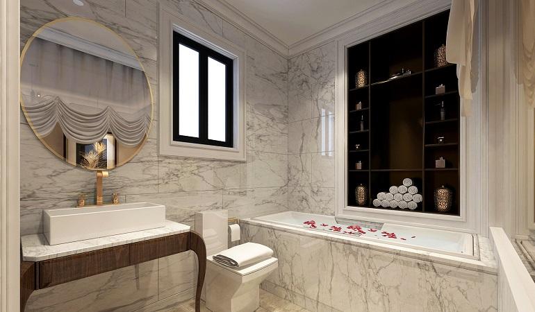 Bật mí cách chọn kích thước gương nhà tắm chuẩn, hợp phong thủy
