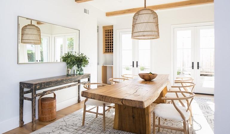 3 loại bàn ăn gỗ đẹp được các gia đình hiện đại yêu thích-1