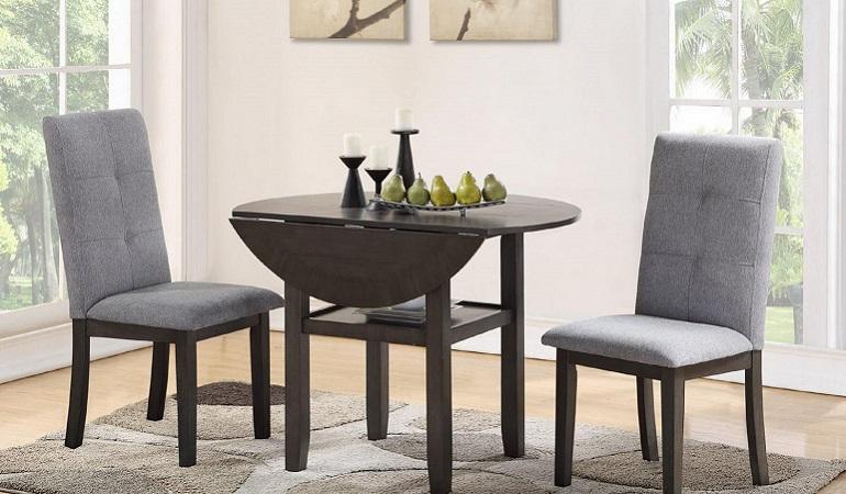 Bật mí 3 mẫu bàn ăn nhỏ gọn giá rẻ và đẹp cho căn hộ nhỏ-1