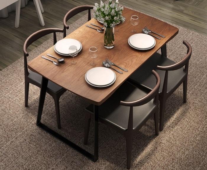 Vì sao bàn ăn gỗ cao su được các gia đình yêu thích-4