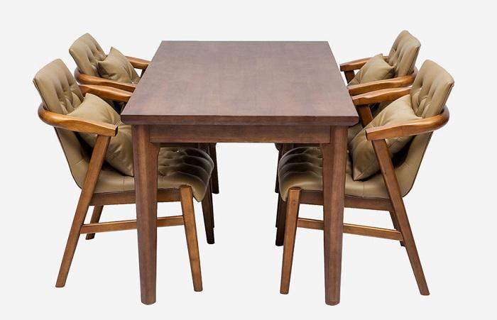 Vì sao bàn ăn gỗ cao su được các gia đình yêu thích-7