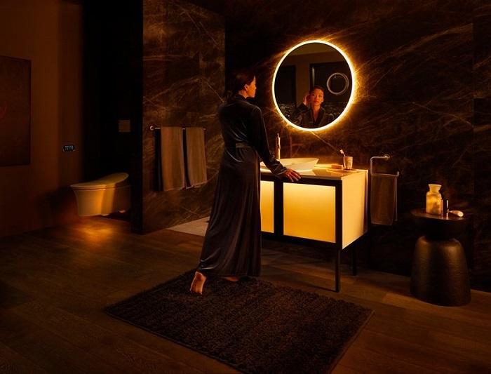 Gương đèn led – Xu hướng hiện đại của phòng tắm-12