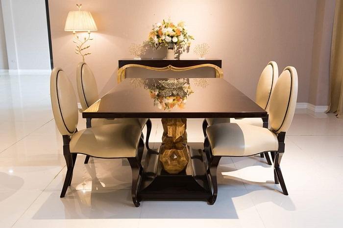 Bí quyết chọn bàn ăn cơm đẹp phù hợp diện tích ngôi nhà-13