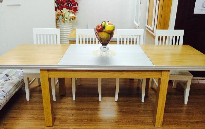 Bí quyết chọn bàn ăn cơm đẹp phù hợp diện tích ngôi nhà-2
