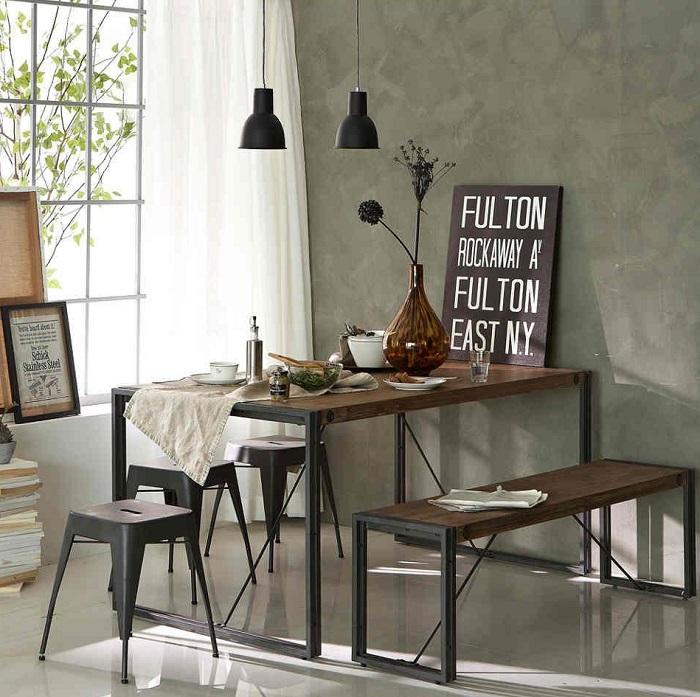 Khi chọn bàn ăn chung cư nhỏ, bạn nên chọn những chiếc bàn có kích thước nhỏ và ưu tiên các bộ bàn thông minh có thể kéo dài hoặc gắn trực tiếp lên tường-3