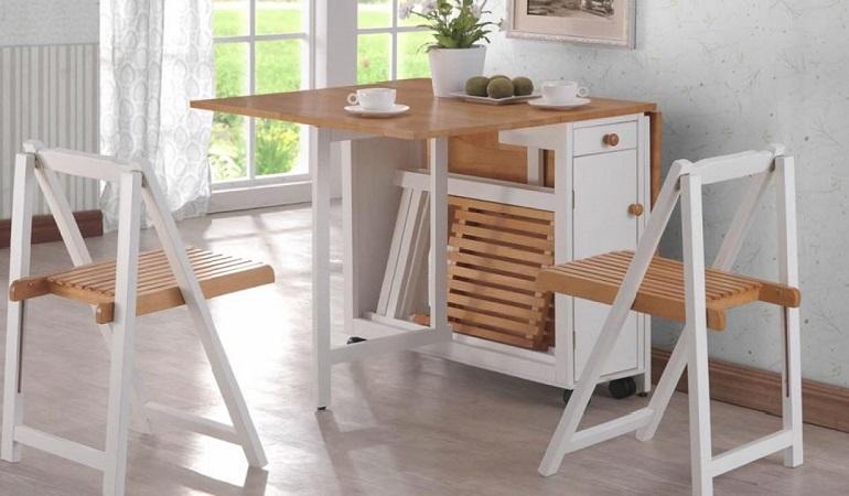 Có nên chọn bàn gỗ xếp thông minh cho nhà bếp?-1