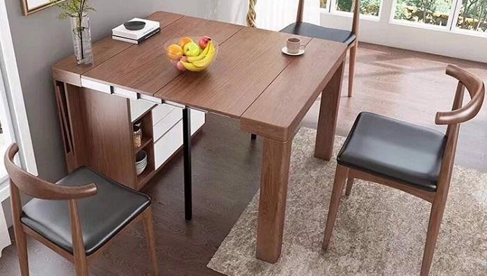 Có nên chọn bàn gỗ xếp thông minh cho nhà bếp-4