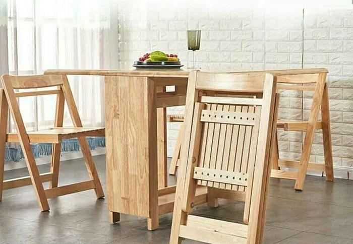 Có nên chọn bàn gỗ xếp thông minh cho nhà bếp-5