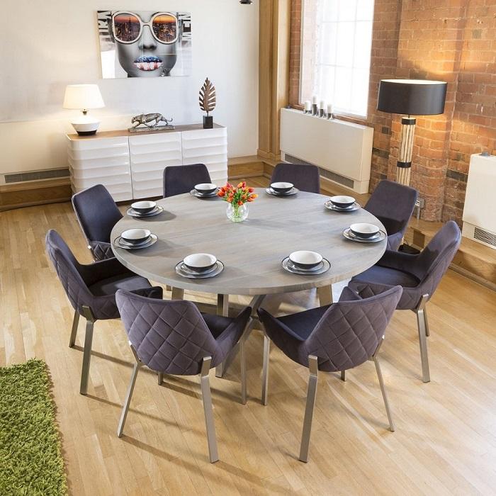 Trọn bộ kinh nghiệm chọn bàn ăn 8 ghế cho gia đình đông người-3