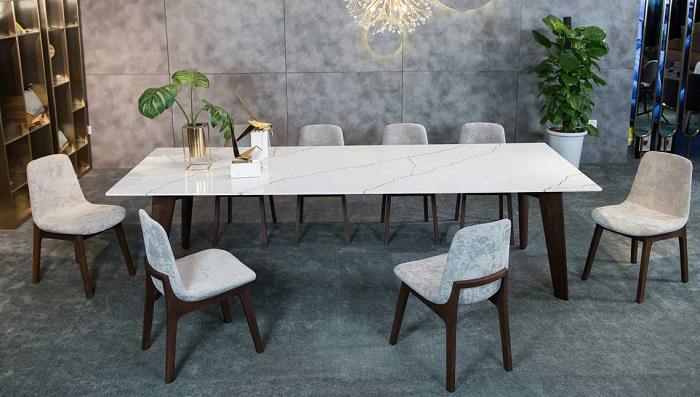 Trọn bộ kinh nghiệm chọn bàn ăn 8 ghế cho gia đình đông người-4