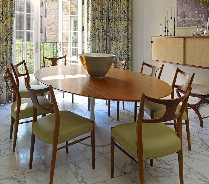 Trọn bộ kinh nghiệm chọn bàn ăn 8 ghế cho gia đình đông người-7