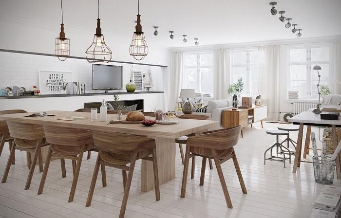 Trọn bộ kinh nghiệm chọn bàn ăn 8 ghế cho gia đình đông người-9