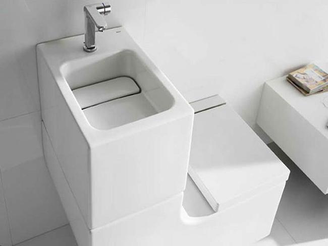 Cập nhật những mẫu lavabo nhỏ, tinh tế cho không gian nhỏ hẹp-9