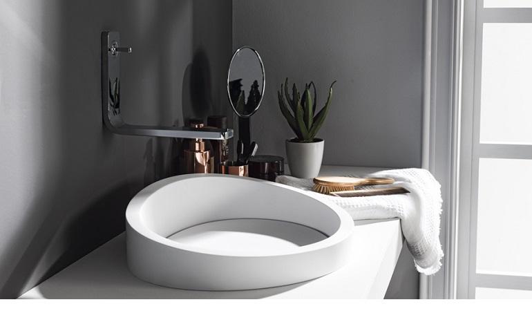 Gợi ý lựa chọn lavabo cho phòng tắm nhỏ