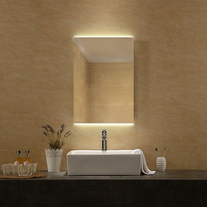 Gương phòng tắm đèn led với những ý tưởng độc đáo-2