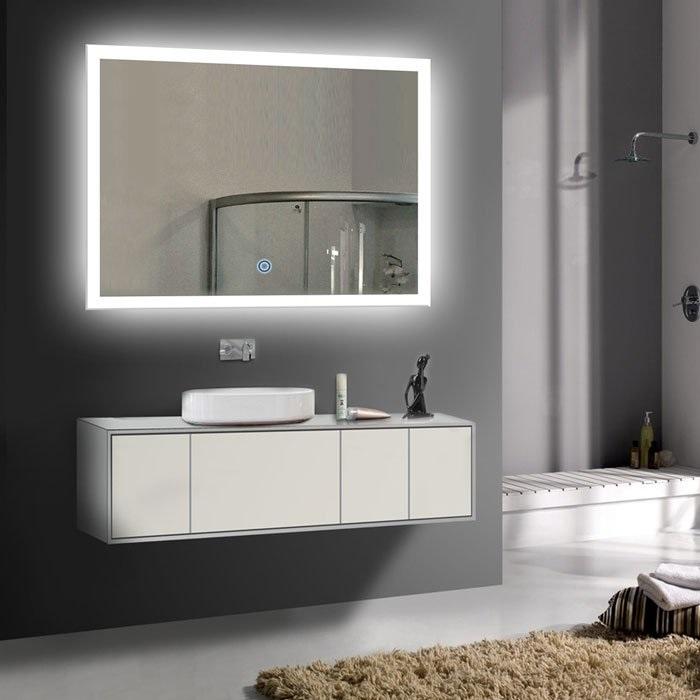 Gương phòng tắm đèn led với những ý tưởng độc đáo-3