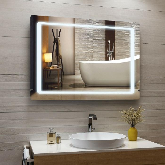 Gương phòng tắm đèn led với những ý tưởng độc đáo-4
